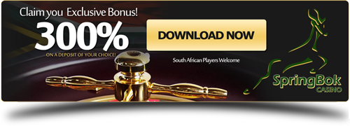 Free exclusive bonus from Springbok Casino!